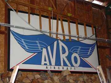 Campbellford Avro sign